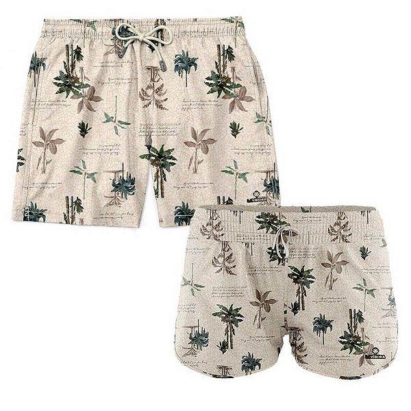 Shorts de Casal Praia Estampados LaVibora - Litoral