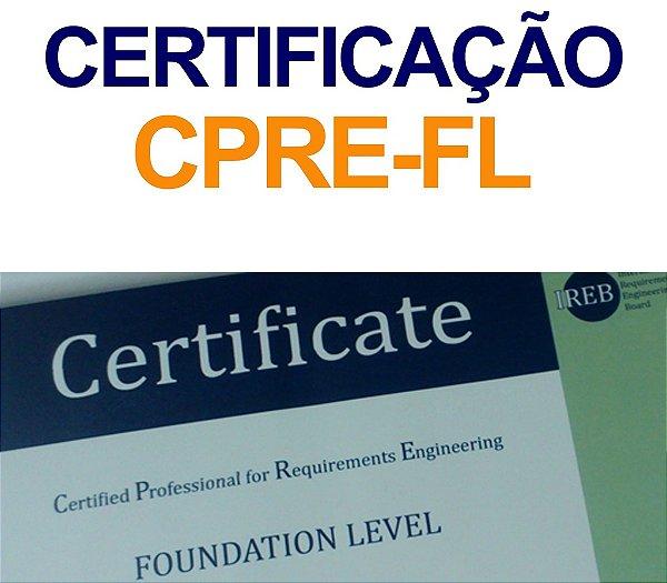 EXAME DE CERTIFICAÇÃO CPRE-FL + LIVRO