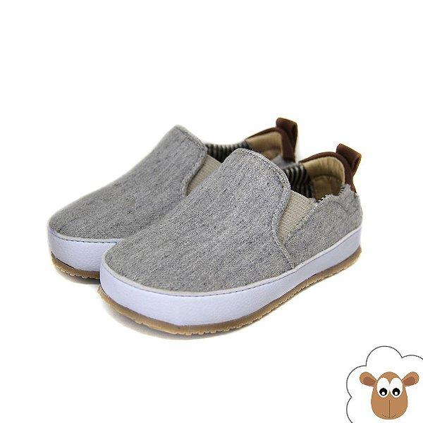 Tênis Iate - Sheep Shoes - Cinza mescla