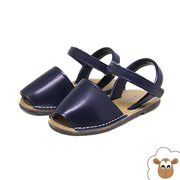 Sandália Avarca - Hokibaby - Azul marinho