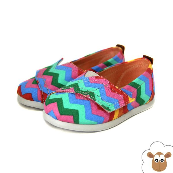 Alpargata Infantil Sheep Shoes Zig Zag