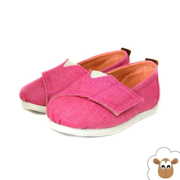Alpargata Infantil Sheep Shoes Pink
