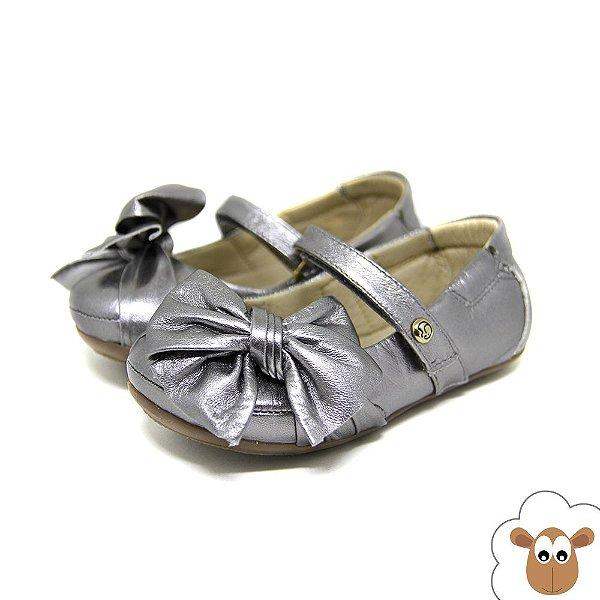 Sapatilha Infantil - Gambo - Prata velho