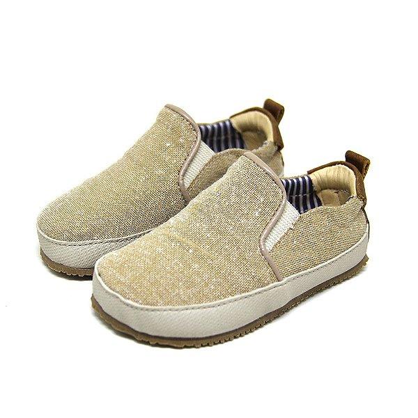 Tênis Infantil Iate Sheep Shoes Bege