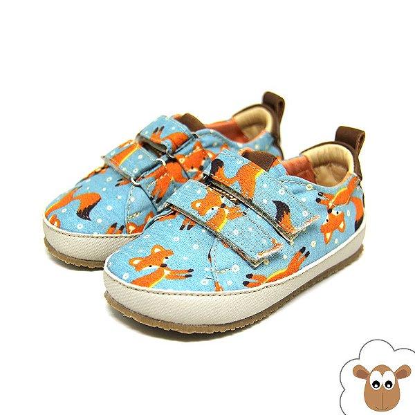 Tênis Infantil Sheep Shoes Raposa Velcro
