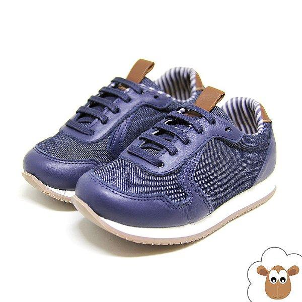 Tênis Infantil Jogging Sheep Shoes Azul Marinho