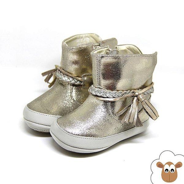Bota Infantil Tip Toey Joey Fairy Golden Light