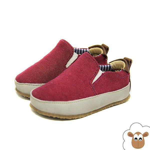 Tênis Iate Sheep Shoes Vinho
