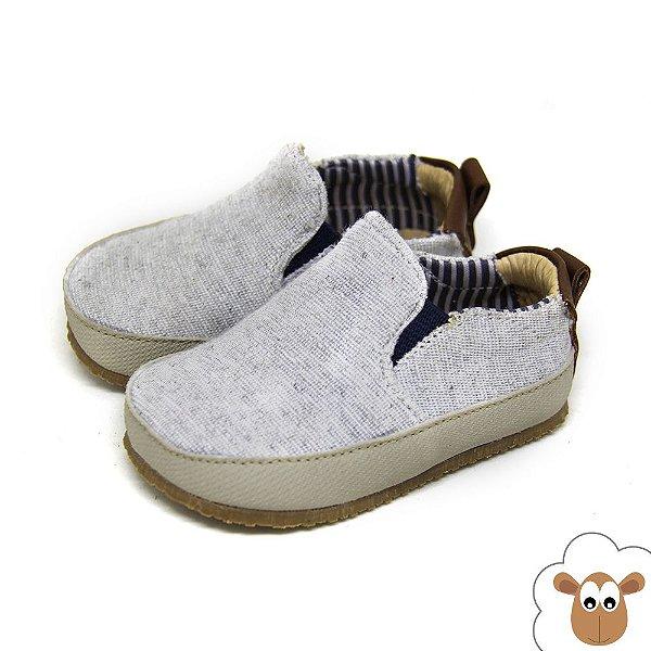 Tênis Iate Sheep Shoes Cinza Mescla