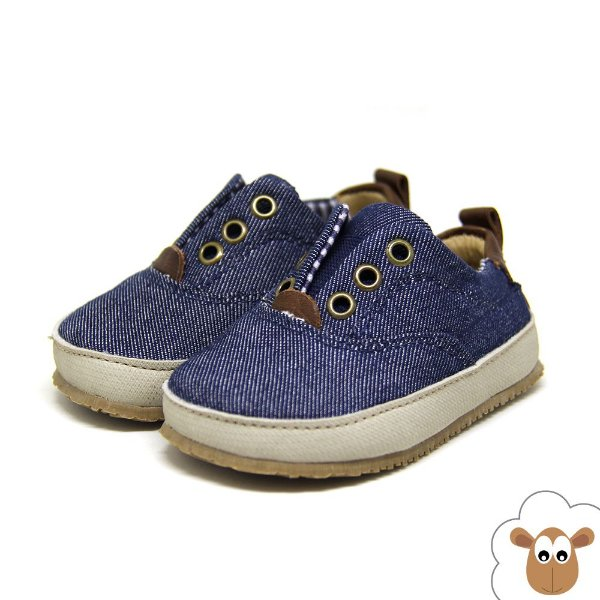Tênis infantil Sheep Shoes Jeans Dark