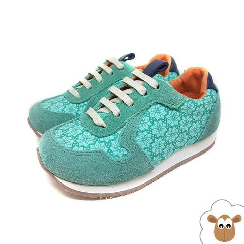 Tênis Infantil Jogging Sheep Shoes Verde água