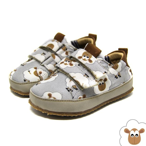 Tênis Infantil Sheep Shoes Originals Velcro