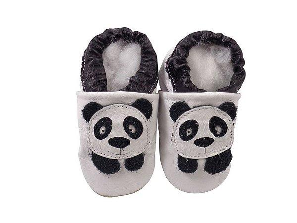 Pantufa Infantil Catz Nicky Panda branco