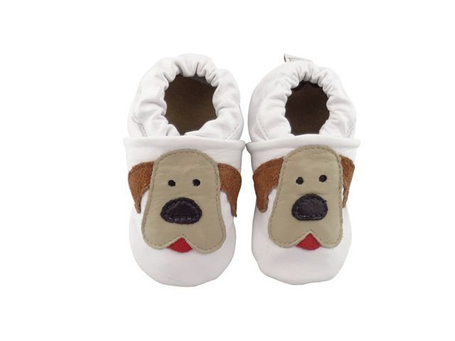 Pantufa Infantil Catz Nicky Cachorro branco