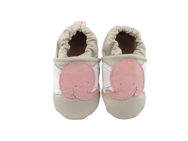 Pantufa Infantil Catz Nicky Elefante Gelo e rosa