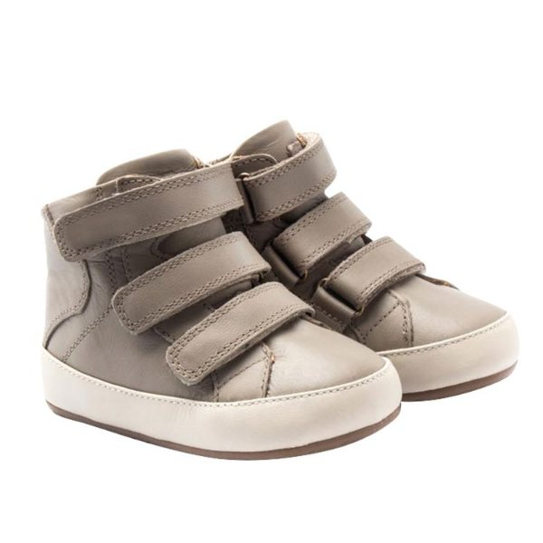 Bota infantil Sheep Shoes by Gambo Taupe Velcro