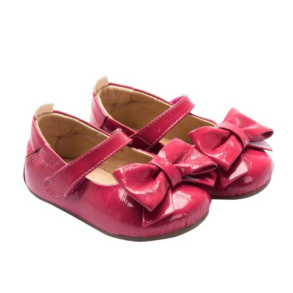 Sapatilha infantil Sheep Shoes by Gambo verniz Pink