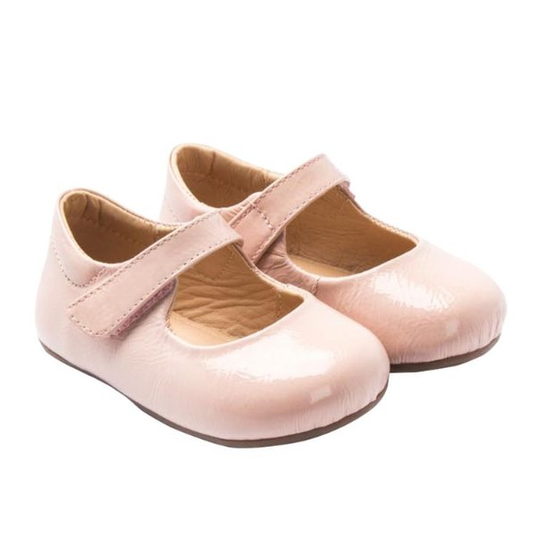 Sapatilha infantil Sheep Shoes by Gambo Verniz Rosa bebê