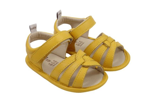 Sandália Infantil Catz Cloe Amarelo