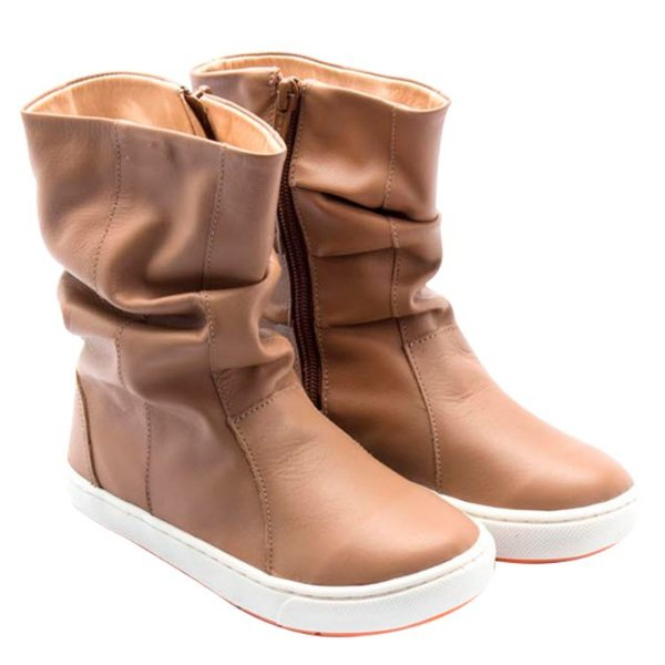 Bota infantil Sheep Shoes by Gambo Doce de leite Kids