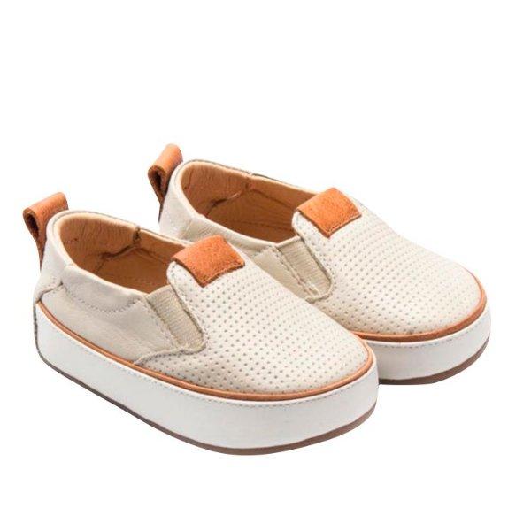 Tênis Iate infantil Sheep Shoes by Gambo Off White