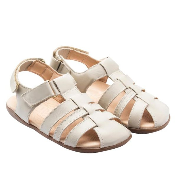 Sandália infantil Sheep Shoes by Gambo Off White Toddler