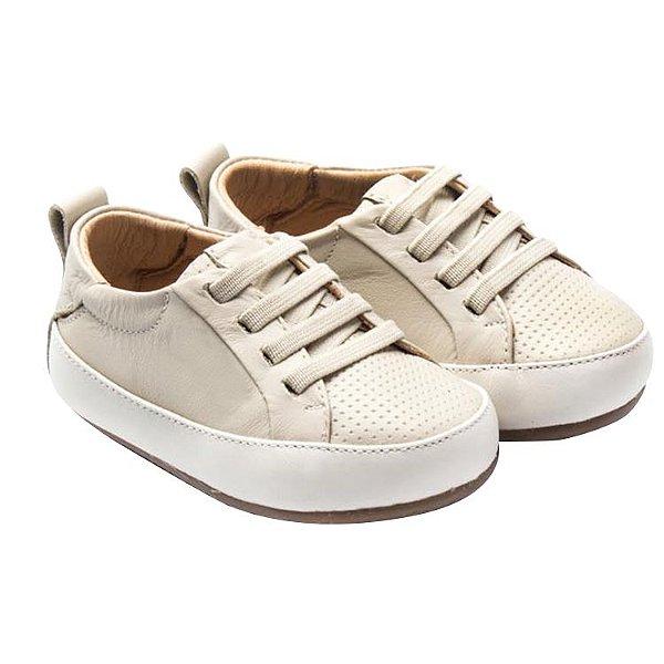 Tênis infantil Sheep Shoes by Gambo Off White Cadarço elástico