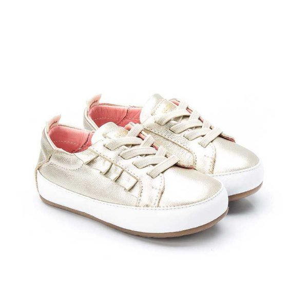 Tênis Infantil Sheep Shoes by Gambo Ouro light
