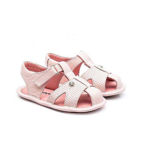 Sandália Infantil Sheep Shoes by Gambo Rosa Bebê