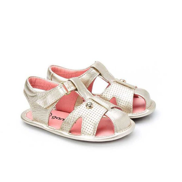Sandália Infantil Sheep Shoes by Gambo Ouro light