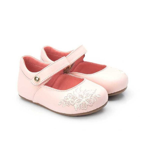 Sapatilha infantil Sheep Shoes by Gambo Rosa bebê