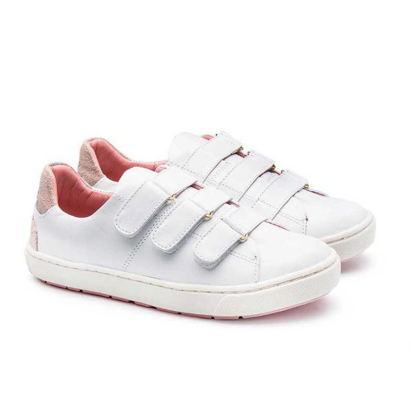 Tênis infantil Sheep Shoes by Gambo Branco 3 Velcros