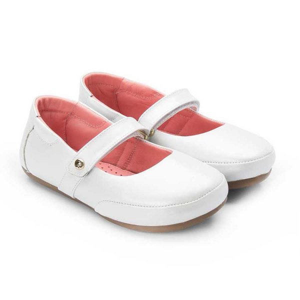 Sapatilha infantil Sheep Shoes by Gambo Glíter Branco