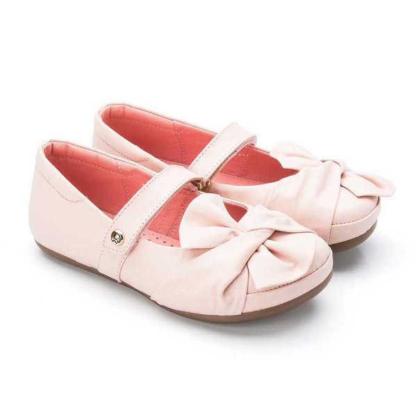 Sapatilha infantil Sheep Shoes by Gambo Blush (rosa bebê)