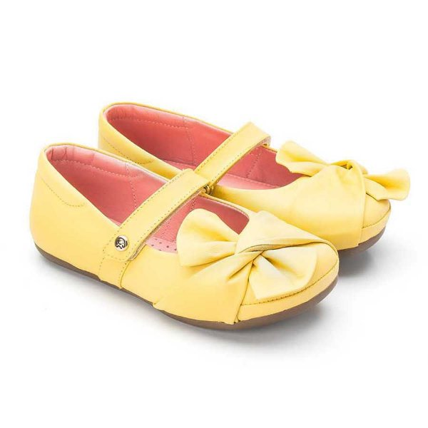 Sapatilha infantil Sheep Shoes by Gambo Mellow (amarelo)