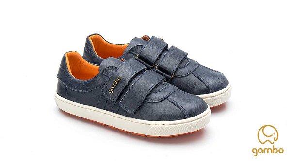 Tênis infantil Sheep Shoes by Gambo 2 Velcros Marinho