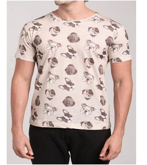 Camiseta Estampa Cachorro