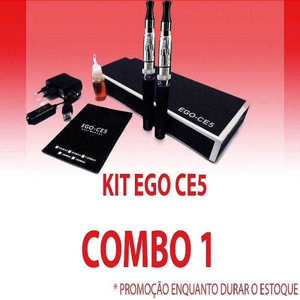 COMBO 1- Kit Ego Ce5 - Edição Limitada 2017 ( 3 Kits DUPLO )