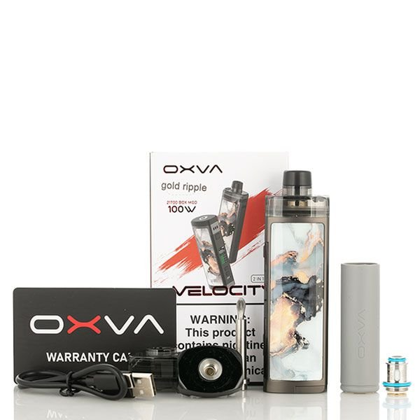 Kit Pod Velocity 21700 100W - Oxva