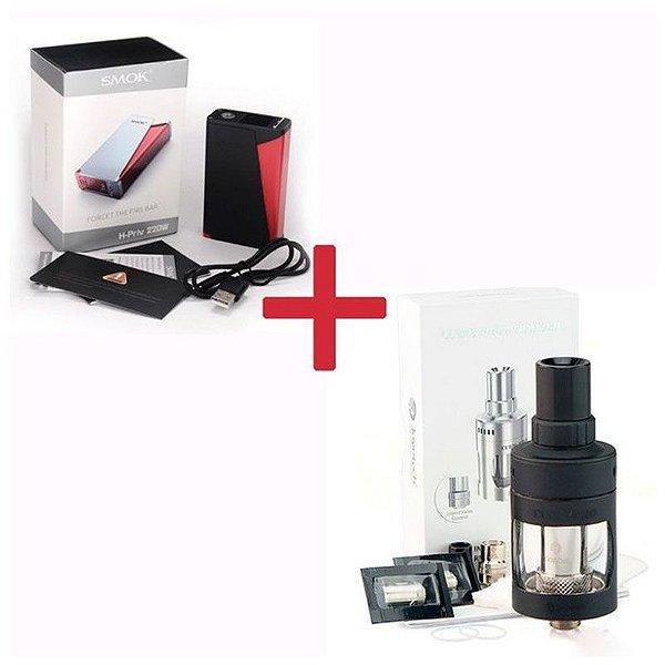 Bateria H-PRIV 220W TC - Smok + Atomizador CUBIS PRO 4 ml - Joyetech