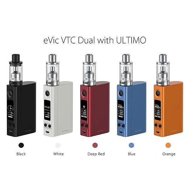 Kit Evic VTC Dual + Atomizador ULTIMO 4ml - Joyetech