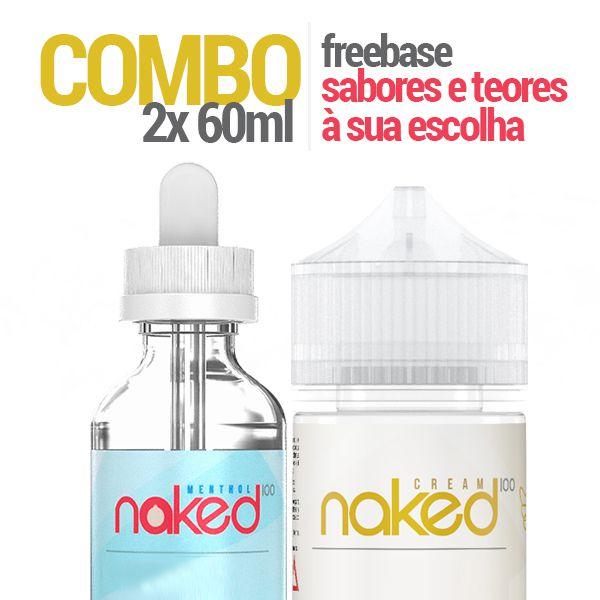 COMBO 2 Líquido Naked 60ml 3mg