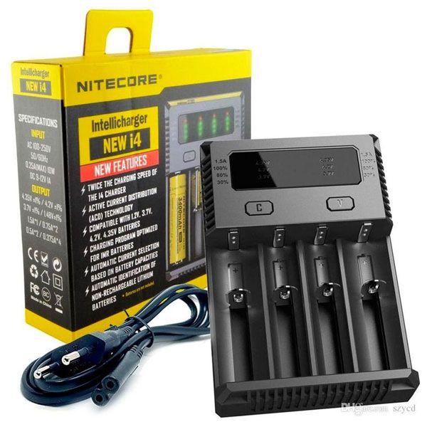 Carregador de Pilhas New i4 -NITECORE