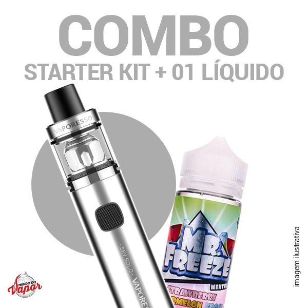 COMBO Kit Sky Solo - Vaporesso + 1 líquido Mr.Freeze - 100ml