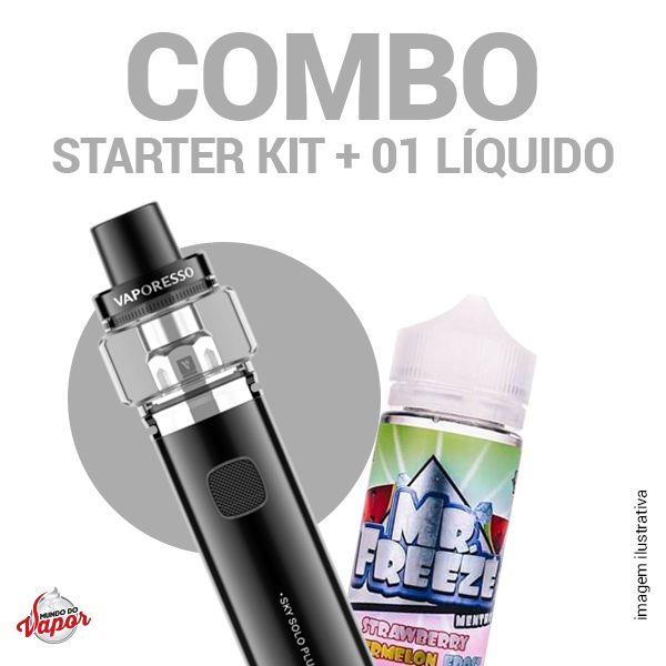 COMBO Kit Sky Solo Plus - Vaporesso + 1 líquido Mr.Freeze - 100ml
