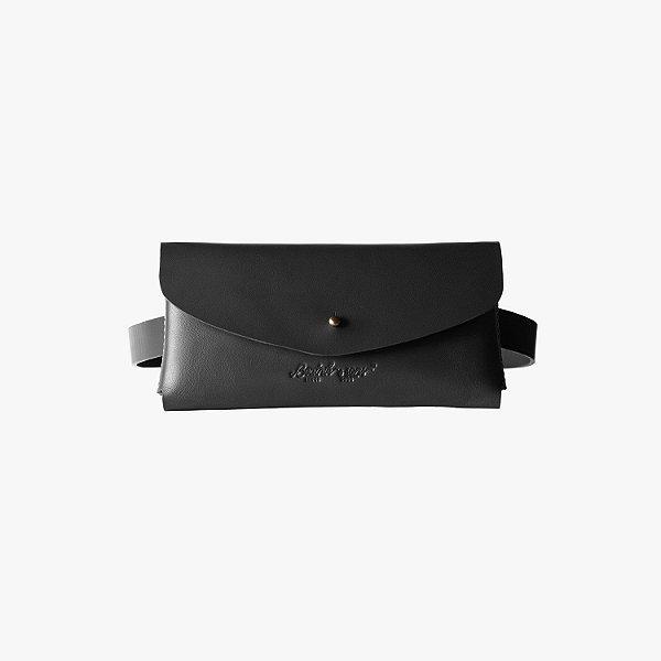 Pochete de couro Diary – Black