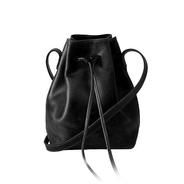 Bolsa em Couro Ann – All Black
