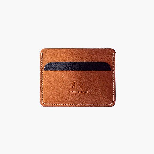 Carteira Porta cartão de couro Neal – Bicolor
