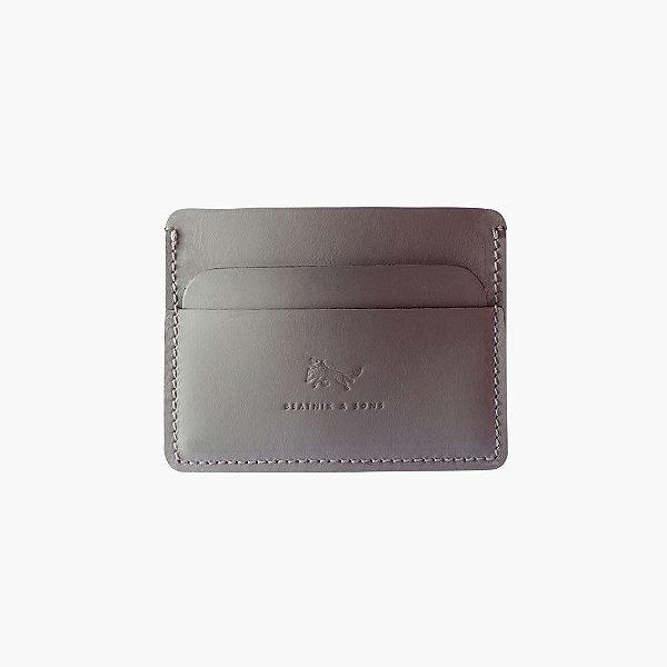 Carteira Porta cartão de couro Neal – Ashes