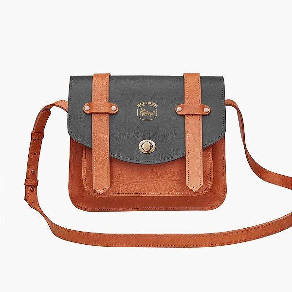 Bolsa de couro Joan - Bicolor